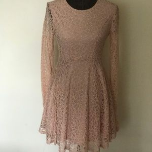 American Rag Rose Lace Dress